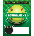 Softball Tournament Template