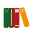 academic books icon vector image vector image
