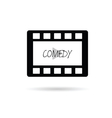 film tape comedy vector image vector image