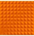 geometric pattern orange simple vector image vector image
