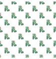 hight woman boot pattern seamless vector image