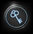 key icon symbol vector image