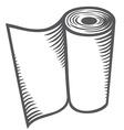 Paper towel vector image vector image
