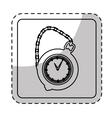 pocket watch icon image vector image vector image