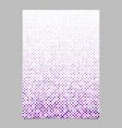 purple circle pattern brochure background vector image vector image