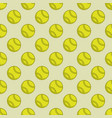 seamless color tennis background vector image vector image