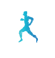 Sport man abstract isolated vector image vector image