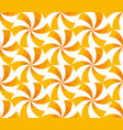 sunny yellow spinning geometric seamless pattern vector image vector image