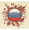Symbol of Russia vector image vector image