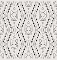 Tribal seamless pattern with wolf