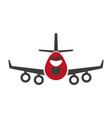 avia transportation logistics aircraft or plane vector image