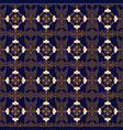 asian geometric background seamless pattern vector image vector image