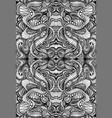 coloring page abstract mandala pattern maze line vector image vector image