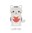 cute cats of cute cats vector image vector image
