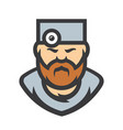 doctor surgeon cartoon vector image