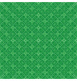 green abstract seamless pattern vector image vector image