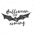 Halloween 2016 is coming vector image vector image