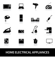 home electrical appliances eps10 vector image vector image