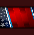 usa nation flag backgrounds vector image vector image