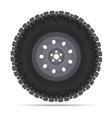 Off road vehicles wheel vector image