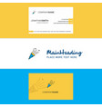 beautiful celebration pop logo and business card vector image