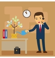 Business investment concept vector image vector image