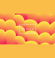 colorful background abstract shapes composition vector image vector image