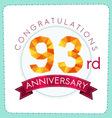 colorful polygonal anniversary logo 3 093