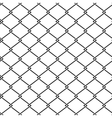 fence steel netting seamless pattern vector image vector image