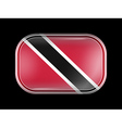 Flag of Trinidad and Tobago Rounded Corners vector image vector image