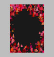 modern random christmas design stationery vector image vector image