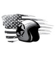 monochromatic america veteran day memorial day vector image