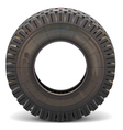 Old Truck Tire vector image vector image