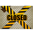 closed vector image