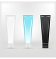 tubes of cream vector image