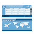 air ticket vector image