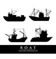 boat design vector image vector image