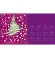 calendar to a new 2012 year vector image vector image