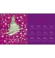 calendar to a new 2012 year vector image vector image