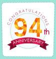 colorful polygonal anniversary logo 3 094