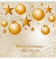 Contemporary Merry Christmas background EPS10 file vector image vector image