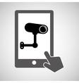 data protection smartphone surveillance vector image vector image