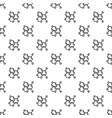 oxygen formula pattern seamless vector image vector image