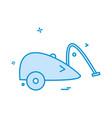 vaccum cleaner icon design vector image