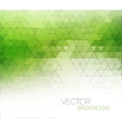 Abstract green light template background vector image vector image