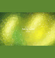abstract multi green polygonal space background vector image vector image