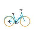 classic bicycle icon vector image vector image