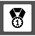 First place icon from Award Buttons OverColor Set vector image