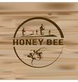 Honey logo vector image vector image