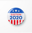 i vote 2020 united states america presidential vector image